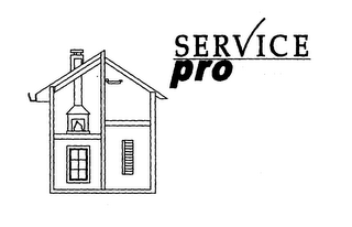 mark for SERVICE PRO, trademark #78350429