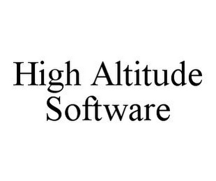 mark for HIGH ALTITUDE SOFTWARE, trademark #78352144