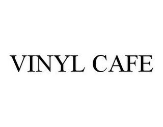 mark for VINYL CAFE, trademark #78352659