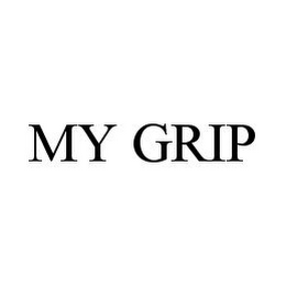 mark for MY GRIP, trademark #78353593