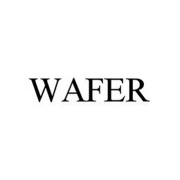 mark for WAFER, trademark #78353633