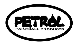 mark for PETROL PAINTBALL PRODUCTS, trademark #78355611