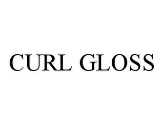 mark for CURL GLOSS, trademark #78357383