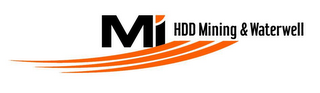 mark for MI HDD MINING & WATERWELL, trademark #78358870