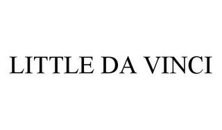 mark for LITTLE DA VINCI, trademark #78359048
