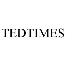 mark for TEDTIMES, trademark #78362032