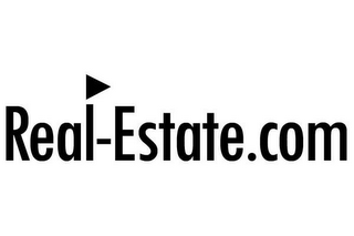 mark for REAL-ESTATE.COM, trademark #78365408