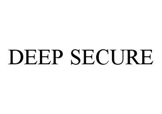mark for DEEP SECURE, trademark #78367566