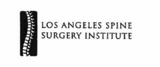 mark for LOS ANGELES SPINE SURGERY INSTITUTE, trademark #78367928