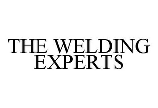 mark for THE WELDING EXPERTS, trademark #78368610