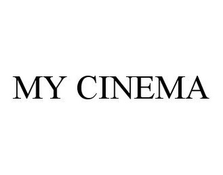 mark for MY CINEMA, trademark #78368681