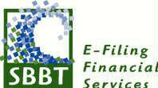 mark for SBBT E-FILING FINANCIAL SERVICES, trademark #78369895