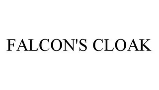 mark for FALCON'S CLOAK, trademark #78370229