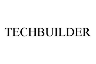 mark for TECHBUILDER, trademark #78372997