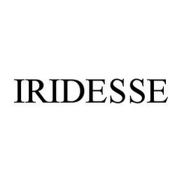 mark for IRIDESSE, trademark #78373297
