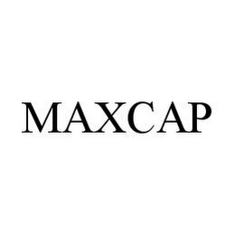 mark for MAXCAP, trademark #78375109