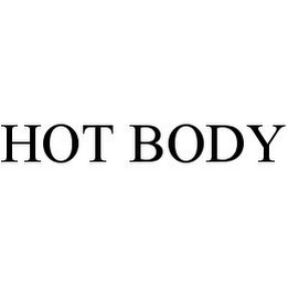 mark for HOT BODY, trademark #78375439