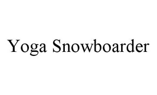 mark for YOGA SNOWBOARDER, trademark #78376679