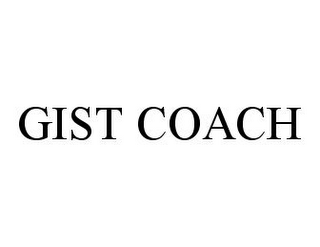 mark for GIST COACH, trademark #78377342