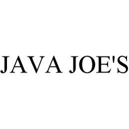 mark for JAVA JOE'S, trademark #78377415