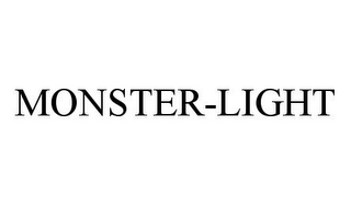 mark for MONSTER-LIGHT, trademark #78380398