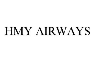 mark for HMY AIRWAYS, trademark #78380534