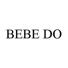 mark for BEBE DO, trademark #78380721