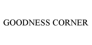 mark for GOODNESS CORNER, trademark #78380834