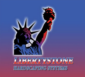 mark for LIBERTYSTONE HARDSCAPING SYSTEMS, trademark #78381083