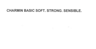 mark for CHARMIN BASIC SOFT. STRONG. SENSIBLE., trademark #78381602
