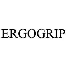 mark for ERGOGRIP, trademark #78381719