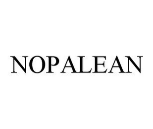 mark for NOPALEAN, trademark #78382170