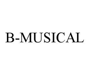 mark for B-MUSICAL, trademark #78383256