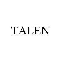 mark for TALEN, trademark #78383602