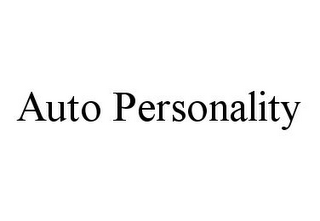 mark for AUTO PERSONALITY, trademark #78384243
