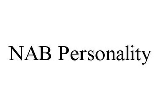 mark for NAB PERSONALITY, trademark #78384247