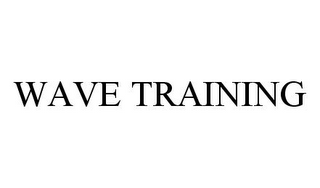 mark for WAVE TRAINING, trademark #78384529