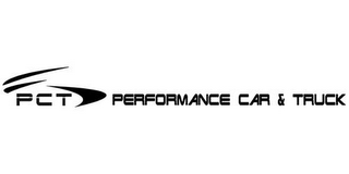 mark for PCT PERFORMANCE CAR & TRUCK, trademark #78384821