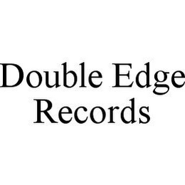 mark for DOUBLE EDGE RECORDS, trademark #78385348