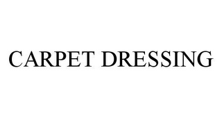 mark for CARPET DRESSING, trademark #78387642
