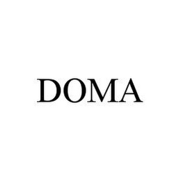 mark for DOMA, trademark #78387738