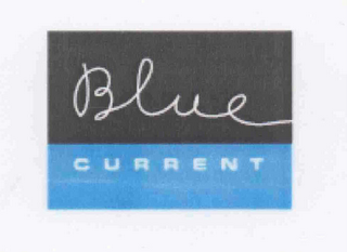 mark for BLUE CURRENT, trademark #78387756