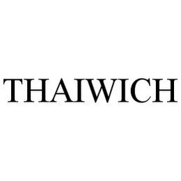 mark for THAIWICH, trademark #78388457