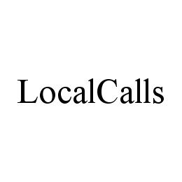 mark for LOCALCALLS, trademark #78389177