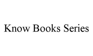 mark for KNOW BOOKS SERIES, trademark #78389242