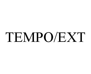 mark for TEMPO/EXT, trademark #78389504