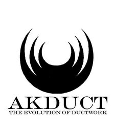 mark for AKDUCT THE EVOLUTION OF DUCTWORK, trademark #78391225