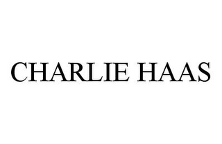 mark for CHARLIE HAAS, trademark #78391363