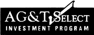 mark for AG&T SELECT INVESTMENT PROGRAM, trademark #78392077