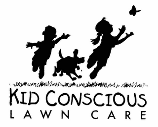mark for KID CONSCIOUS LAWN CARE, trademark #78392345